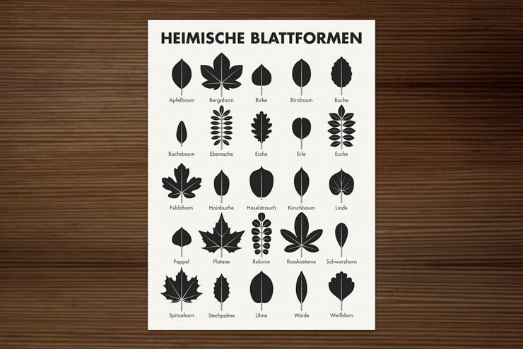 blattformen iris luckhaus illustration design. Black Bedroom Furniture Sets. Home Design Ideas