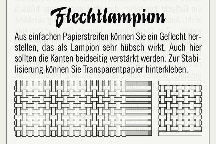 Ausschnitt der Anleitung für einen Flechtlampion zum Selberbasteln für Lily Lux