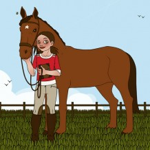 Pferdestarke Girls