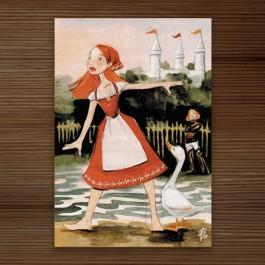 Postkarte Falada
