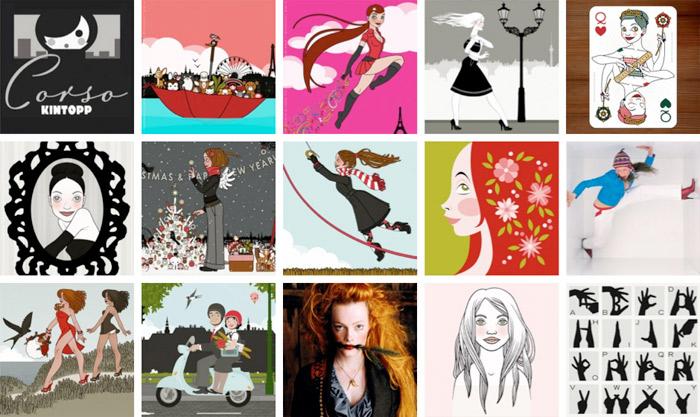 Iris Luckhaus Portfolio Illustraton Design Vorschau