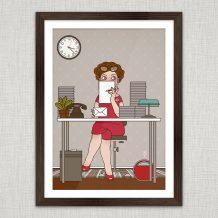 Art Print Secretary
