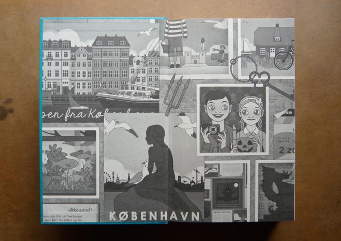 Foto vom Vorsatzblatt im Buch Lillesang