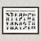 Art Prints |Alphabets at Posterlounge