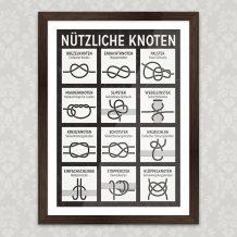 Art Print Knoten