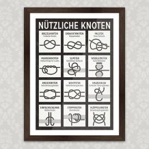 Kunstdruck Knoten