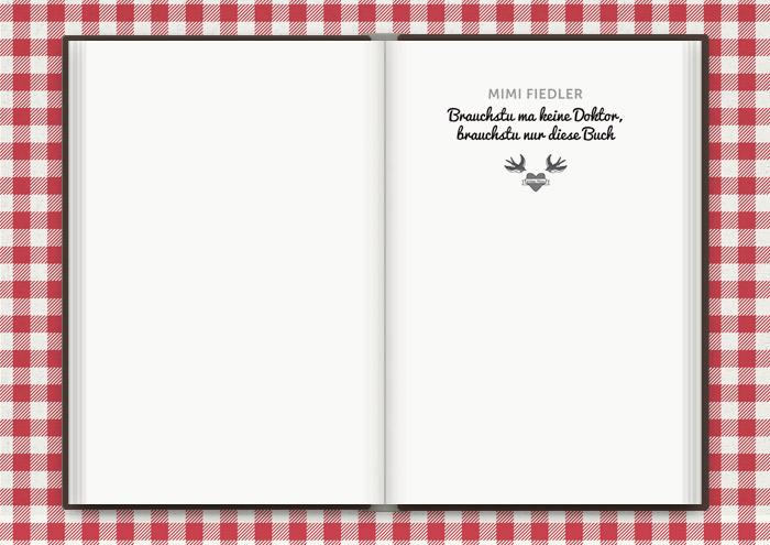 Illustration für ein Tattoo mit zwei Schwalben und einem verliebten Herz, für das Buch Balkantherapie für Liebe, Leib und Seele von Mimi Fiedler