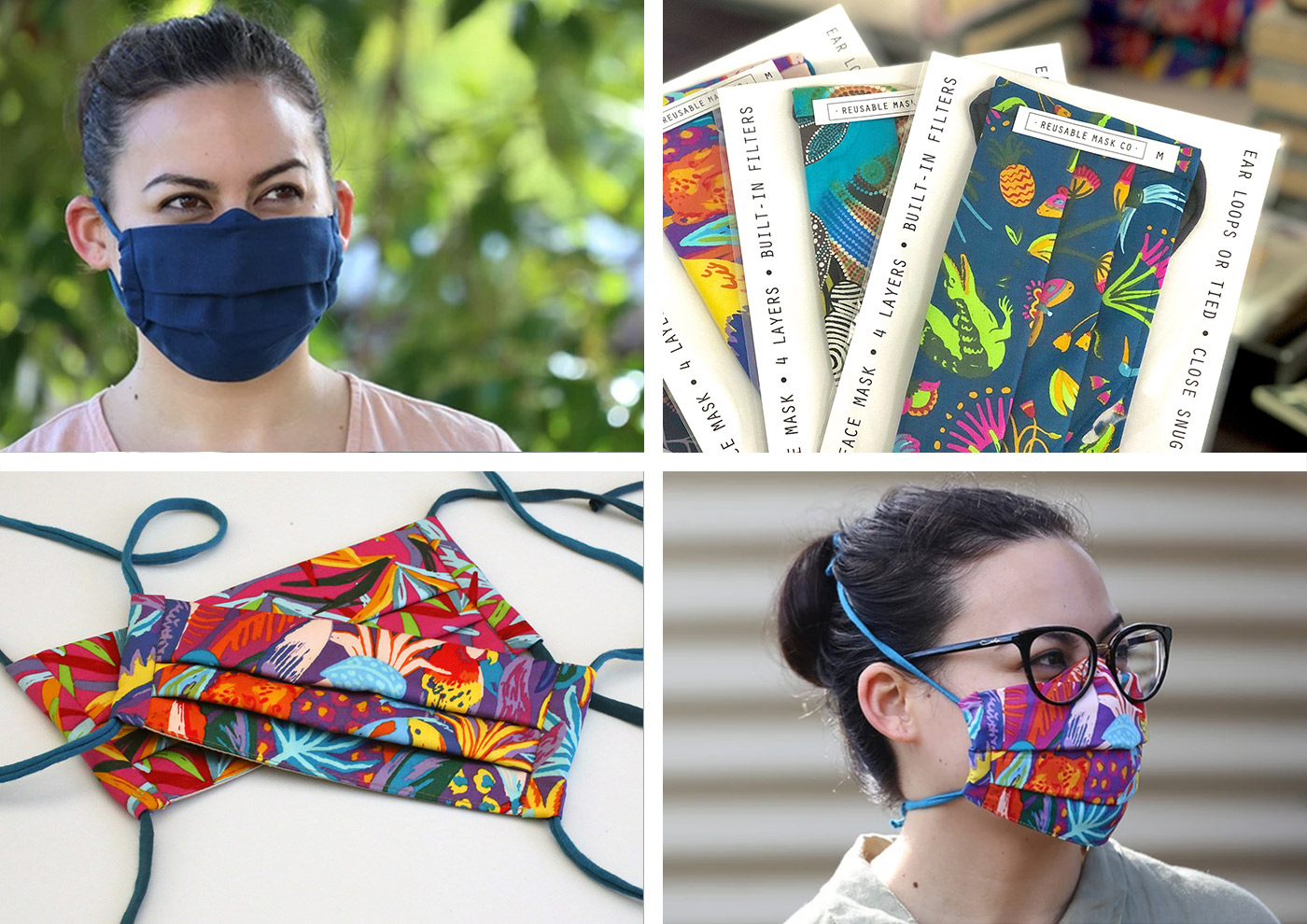 Iris Luckhaus Hybrid Mask by Reusable Mask Co Australia by Sarah Chan