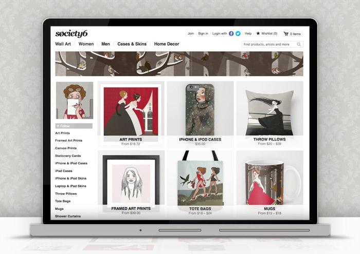 Produkte von Iris Luckhaus auf Søciety6