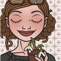 Lily Lux mit Schneeglöckchen