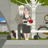 Kleine Leute in Paris   Anna & Max   Hochzeitstag III