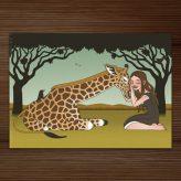 Emmy und Patty Postkarten für EmpaTrain