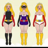Superheldin für das Barbara Magazin   Styling