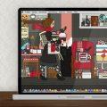 Lily Lux Wallpaper mit Sperrmüll im Herbst Erstaunlich pünktlich zum meteorologischen Herbstanfang ist bei uns mit Regen, Kälte und den ersten goldenen Blättern schon der Herbst eingekehrt – und obwohl wir auf einen wunderschön warmen und sonnigen Spätsommer hoffen, haben wir das zum Anlass genommen, auf www.lily-lux.de wieder jahreszeitliche Bildschirmhintergründe, elektronische Grußkarten und Notizbuchseiten hochzuladen! Und außerdem finden wir für und mit Lily Lux auch weiterhin immer mal wieder ein #Herbstglück auf Facebook und Twitter – schauen Sie doch mal vorbei! Zeichnung eines Mädchens, das auf dem Flohmarkt oder Sperrmüll Dinge, Taschen, Lampen, Tassen und Figuren findet und mitnimmt, für Lily Lux