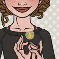 Lily Lux Passbild mit Streichholz