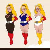 Superheldin für Barbara Magazin   Character