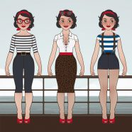 Character Design and Styles for Mimi Fiedler's Balkantherapie