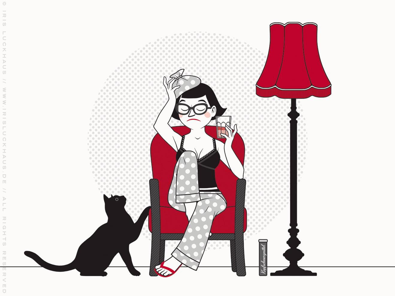 Illustrationen für Du hast das Wort, Schätzchen! 100 charmante Geschichten rund um die Sprache im Duden Verlag