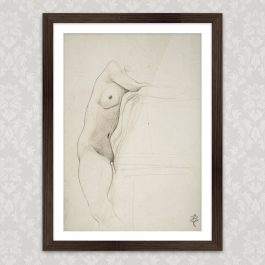 Art Print Nude Bettina