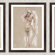 Art Prints | Life Class and Nudes