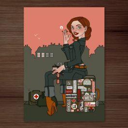 Postkarte Vera Lynn