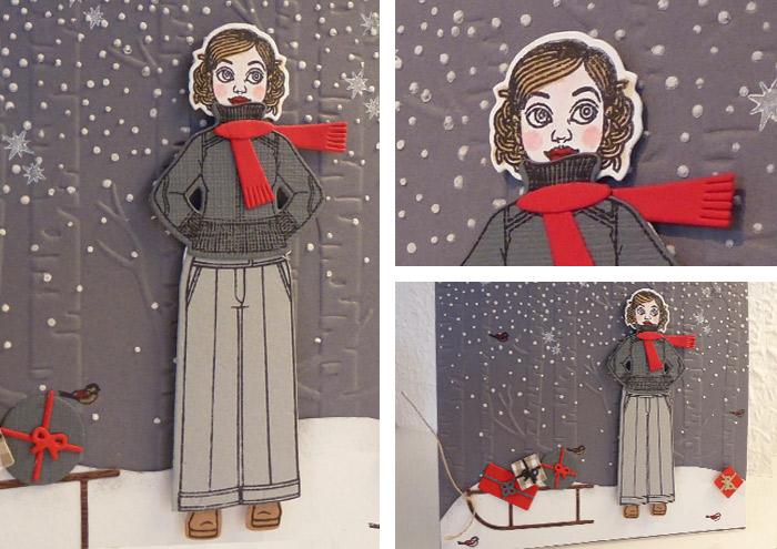 Gerti feiert Weihnachten