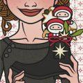 Lily Lux Passbild mit Nikolausstiefel