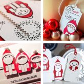 Cards and Tags with our Santa Stamps and Dies