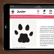 (Deutsch) Published | Cat Tracks on WWF Junior