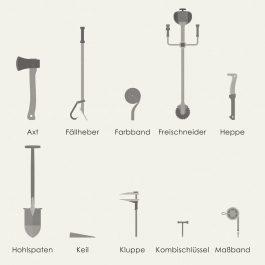 Waldwerkzeug