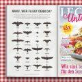 Vogelsilhouetten im Lecker Unterwegs Magazin