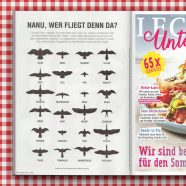 Published | Bird Silhouettes for Lecker Unterwegs