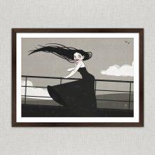 Art Print Seascape I