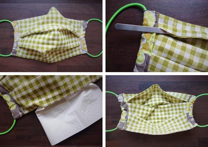Hybrid-Maske Mundmaske Behelfsmaske Alltagsmaske von Iris Luckhaus bei MaskeZeigen.de