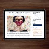 Press | Sewing Change: The Iris Luckhaus Story