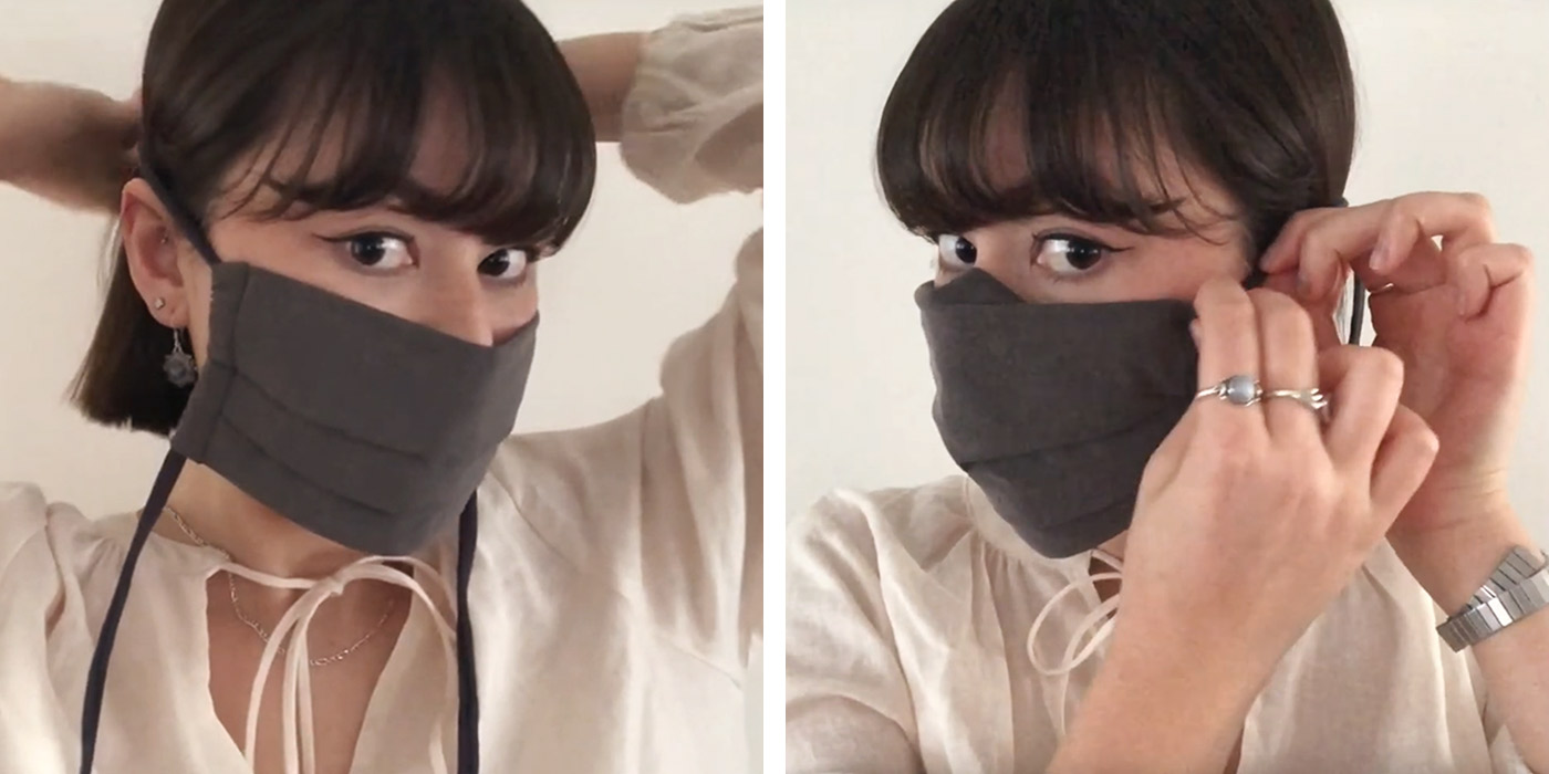 Iris Luckhaus Hybrid Mask by Reusable Mask Co Australia