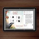 Raffle | Quiz for »Spuren lesen« by Argow and Fokken