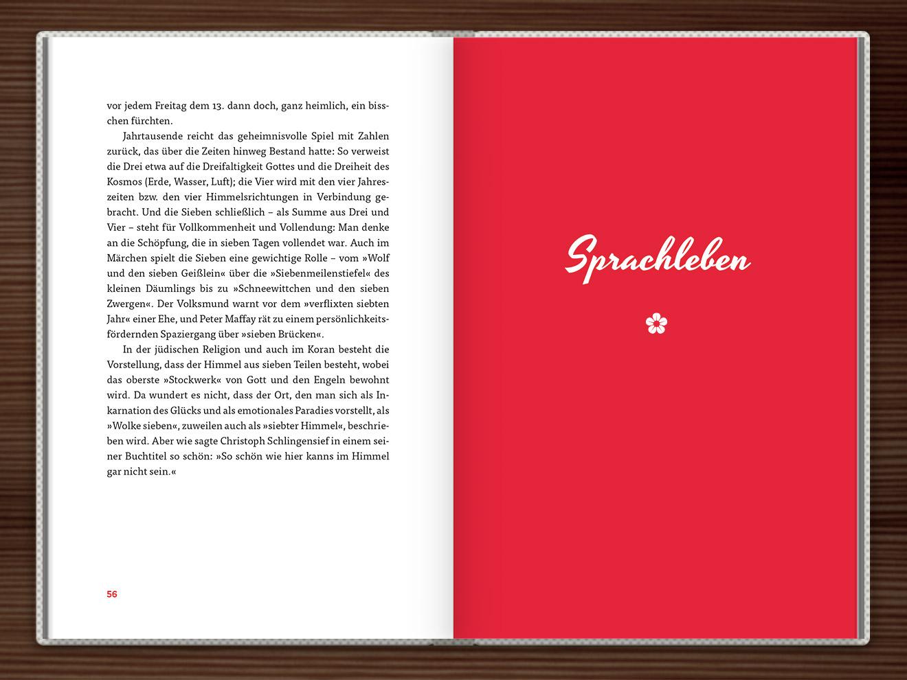 Sprachleben im Buch Du hast das Wort, Schätzchen! 100 charmante Geschichten rund um die Sprache im Duden Verlag von Rita Mielke mit Illustrationen im Sixties-Stil von Iris Luckhaus