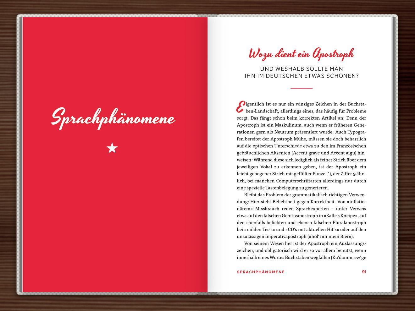 Sprachphänomene im Buch Du hast das Wort, Schätzchen! 100 charmante Geschichten rund um die Sprache im Duden Verlag von Rita Mielke mit Illustrationen im Sixties-Stil von Iris Luckhaus