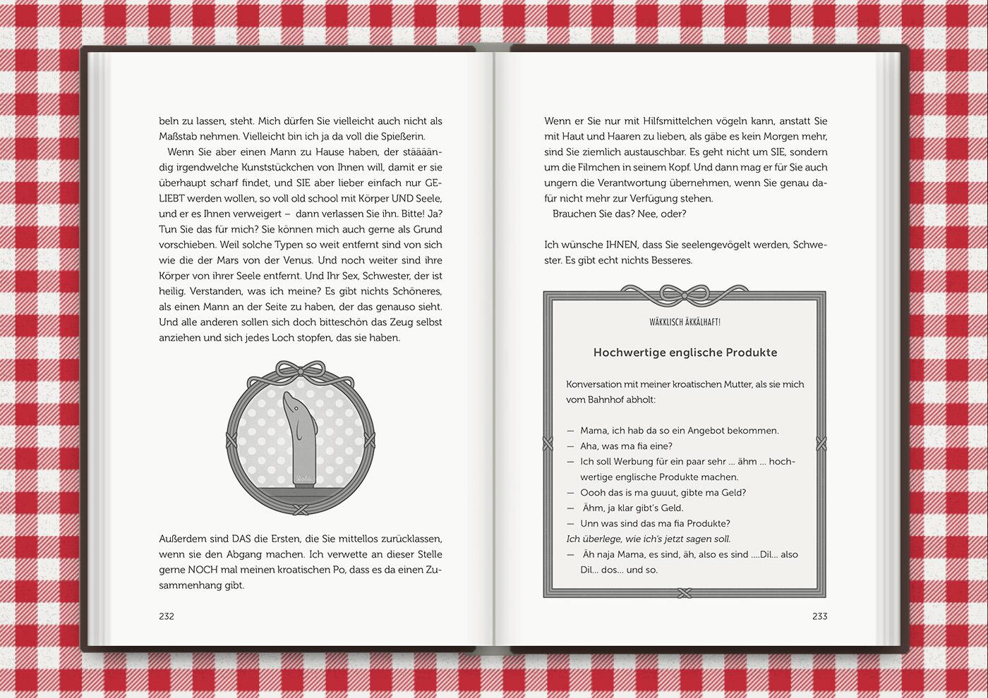 Vignette von Mimi Fiedlers Delphin Doldi, für das Buch Brauchsu keine Doktor, brauchsu nur diese Buch – Die Balkantherapie für Liebe, Leib und Leben von Mimi Fiedler im MVG Verlag
