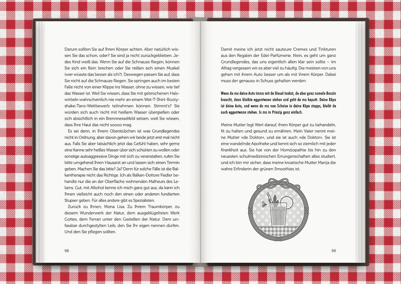 Vignette von Mimi Fiedlers Grünem Smoothie, für das Buch Brauchsu keine Doktor, brauchsu nur diese Buch – Die Balkantherapie für Liebe, Leib und Leben von Mimi Fiedler im MVG Verlag