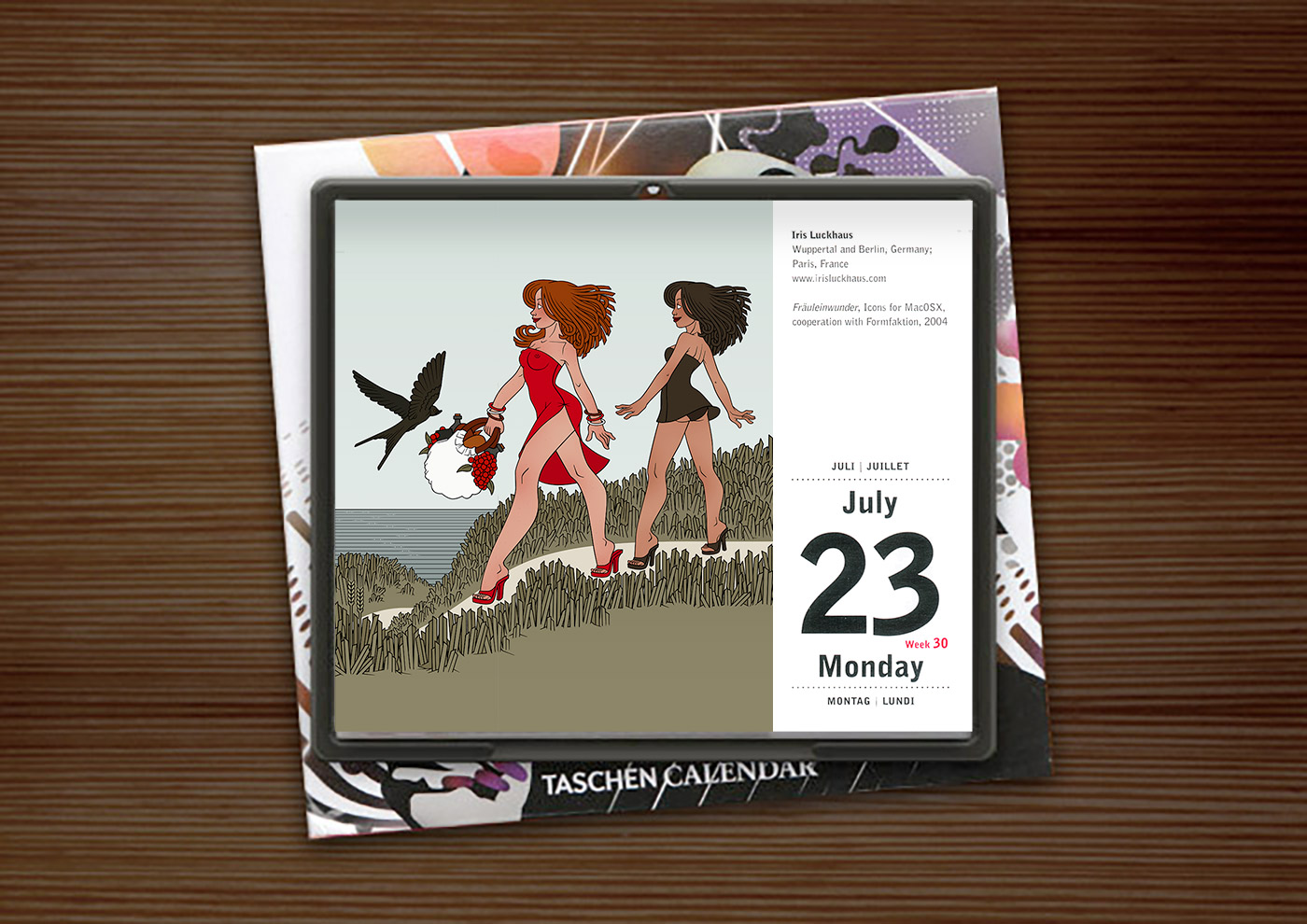 Taschen Illustration Now! Tear-Off Calendar