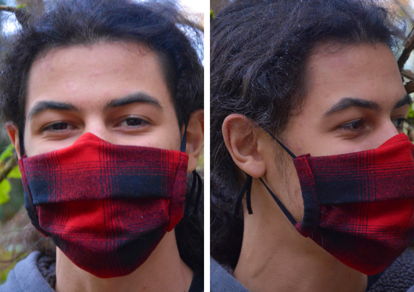 Hybrid Luckhaus Masks for the winter season by NagaKiri