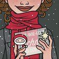 Lily Lux Passbild mit Nikolaus und Schnee