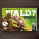 Published | Animal Tracks in Welt der Wunder