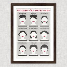 Art Print Frisuren