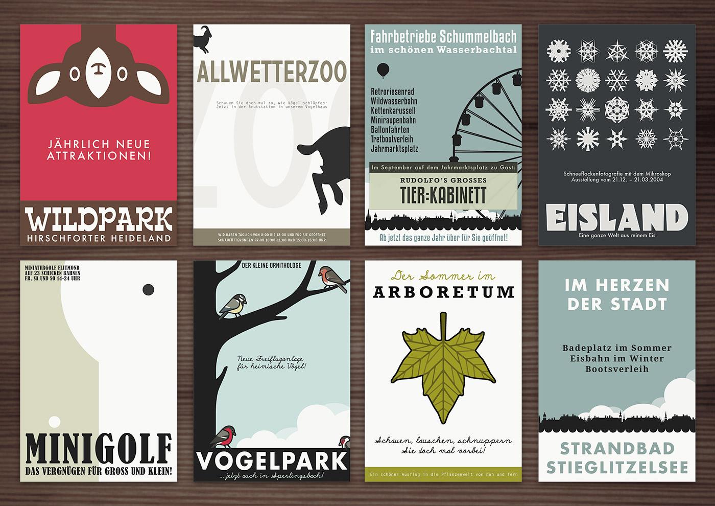 Corporate Identity, Logo und Grafik Design für die Lieblingsorte von Lily Lux