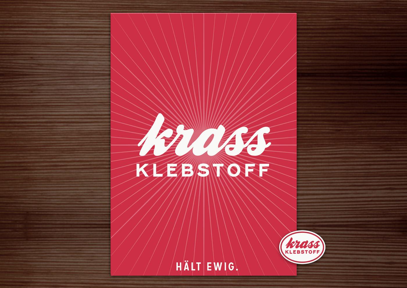 Corporate Identity, Logo und Grafik Design für Lily Lux Krass Klebstoff